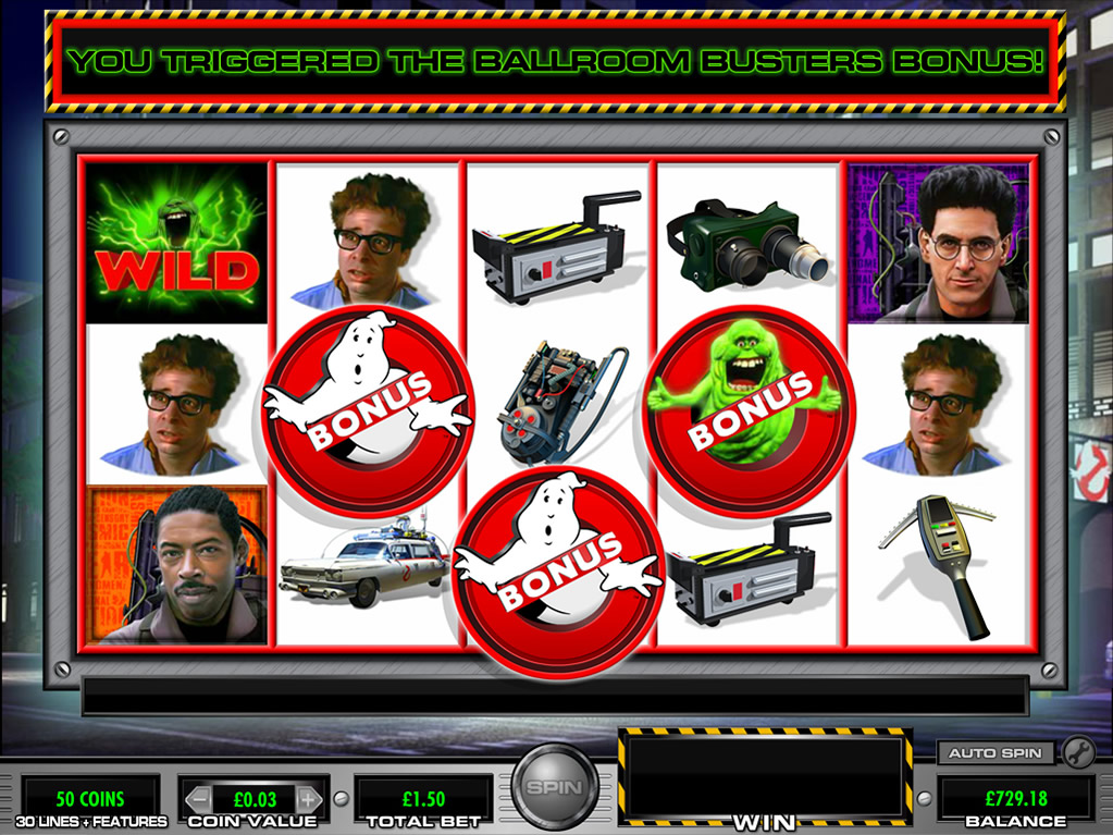 Ghostbusters Slot